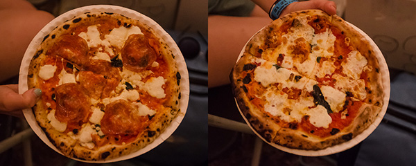 Roberta's Pizza at Bonnaroo music festival in Tennessee