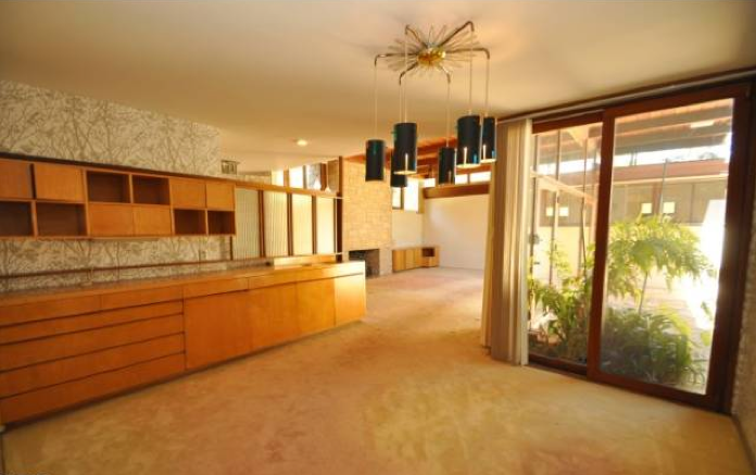 modern homes los angeles: Rustic Canyon 1951 Mid-Century Modern ...