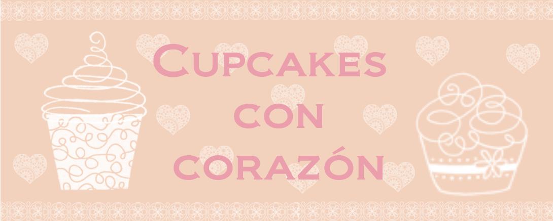 ♥ Cupcakes con corazón ♥