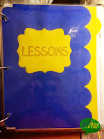 Lessons Divider Page from Miss, Hey Miss!
