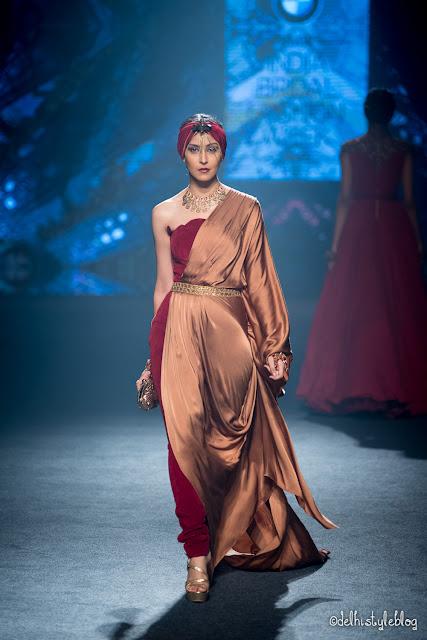 Swarovski Crystal Patina Shantanu Nikhil IBFW2015
