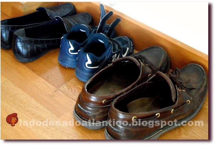 Foto de sapatos feminino, masculino e infantil