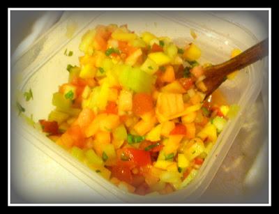 Slice of Southern: Summer Fruit Gazpacho