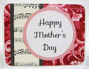 I Love you MomMothers day Card 2013. Happy Mothers day abstract Card