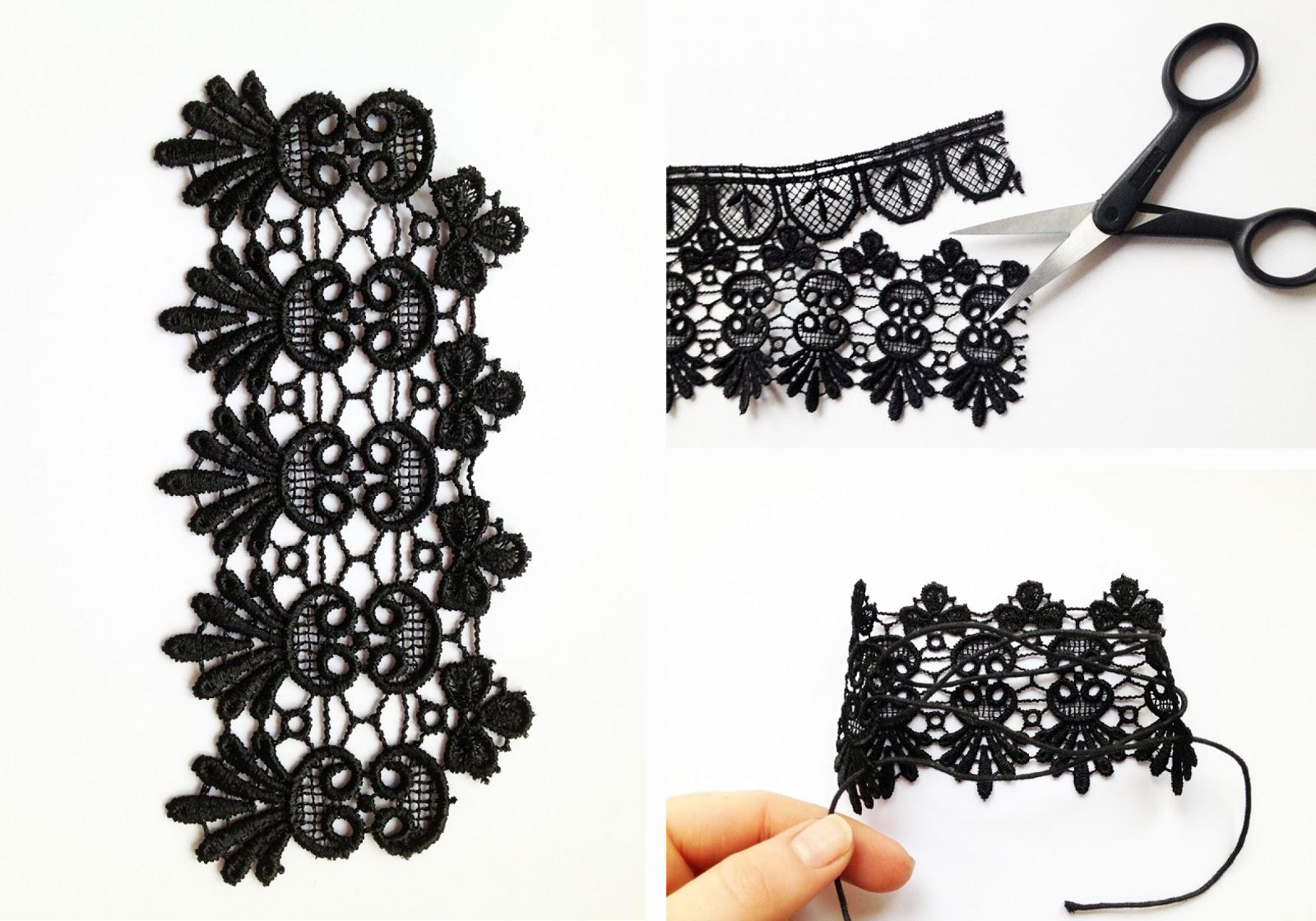 Оригинальные украшения своими руками / бижутерия из ткани 83