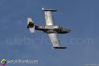 A-37B Dragonfly perteneciente al Comando Aéreo de Combate No 3