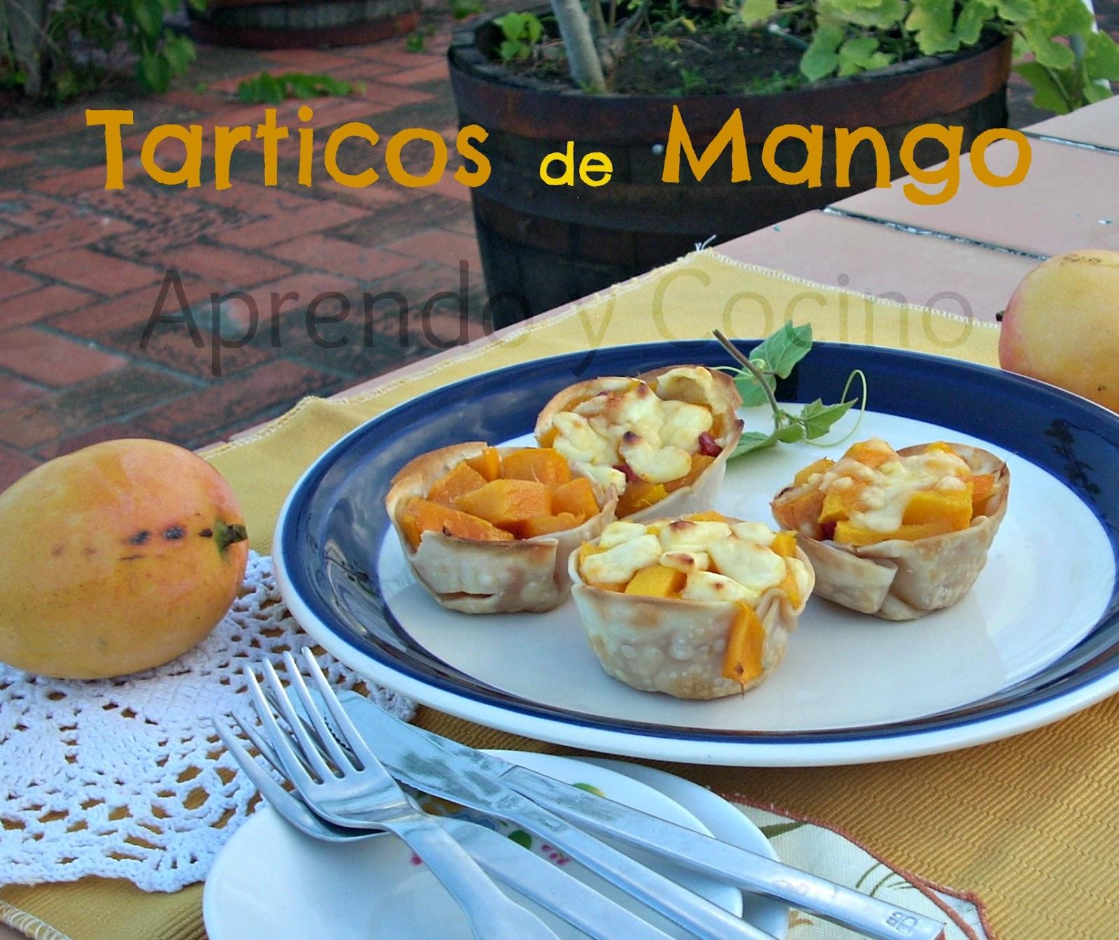 Aprendo y cocino tartaletas de mango for Canape plural