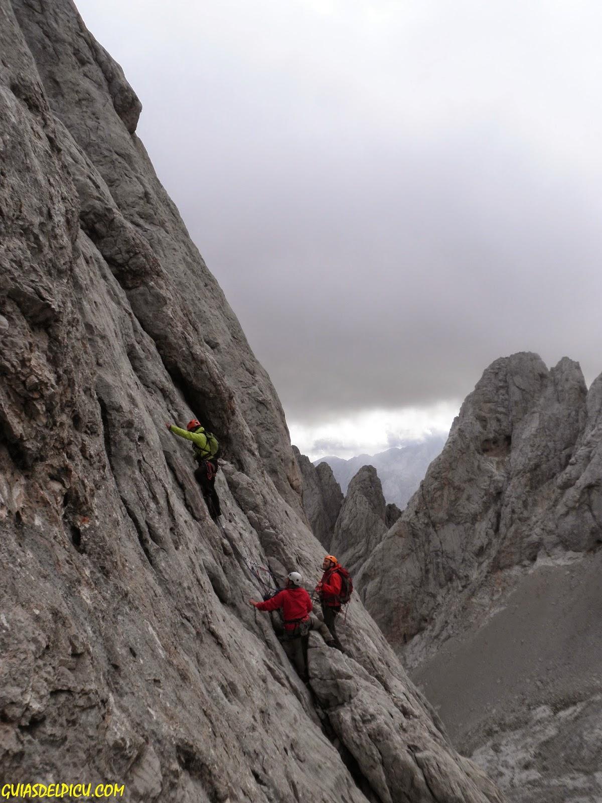 Fernando Calvo , Guia de alta montaña