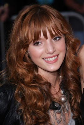 Beauty Women Curly Bangs