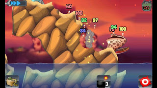 Worms HD for Samsung Galaxy Y