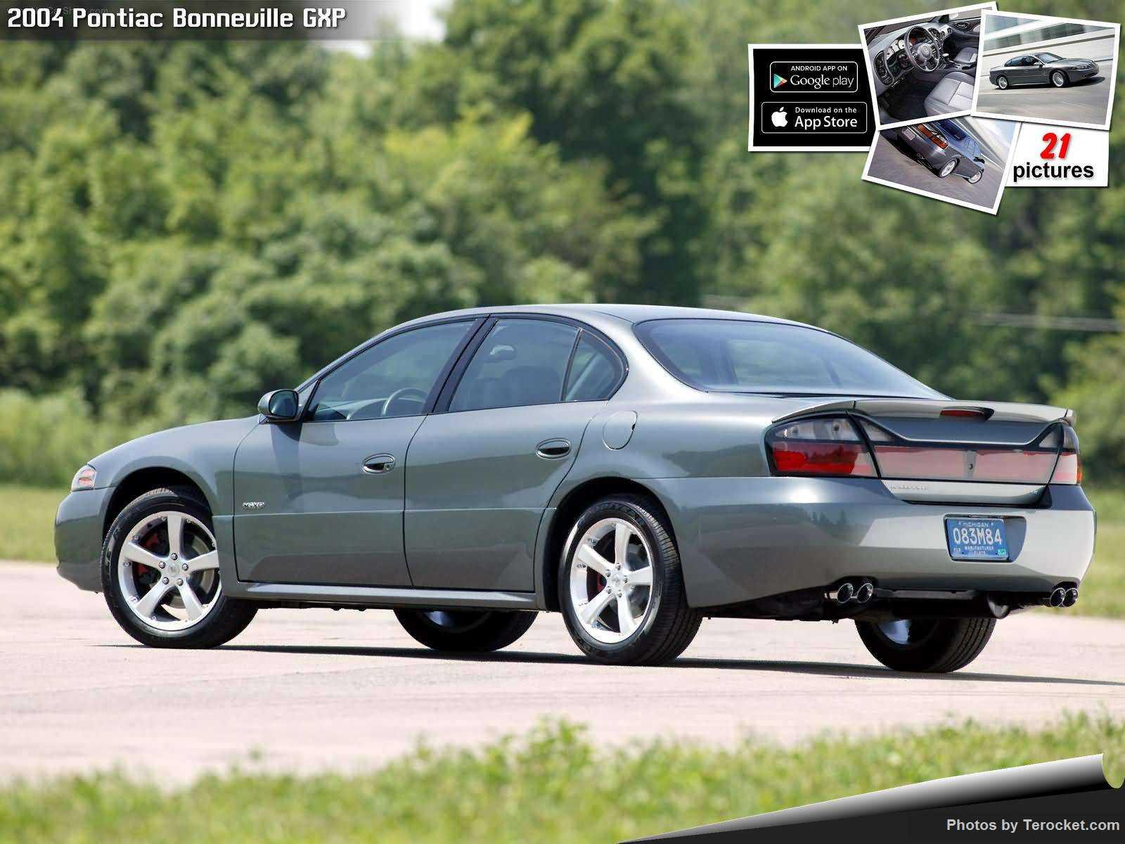 Hình ảnh xe ô tô Pontiac Bonneville GXP 2004 & nội ngoại thất