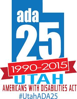 ADA 25 Utah logo