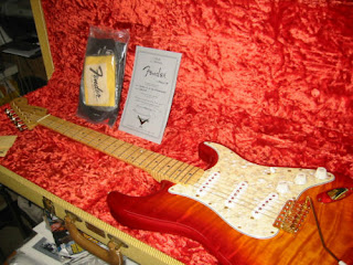 Fender Masterbuilt Baker Cherry Sunburst