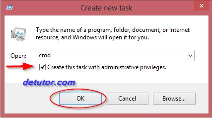 solution to remove black black screen in windows 8