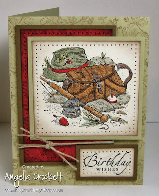 SU Angler and Sincere Salutations Card Designer Angie Crockett