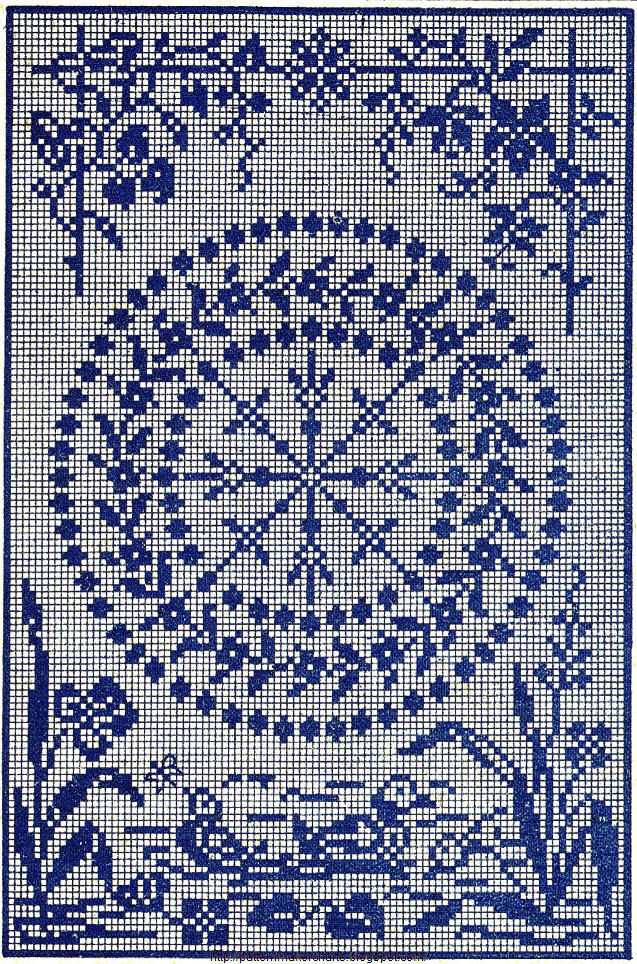 Filet on Pinterest Filet Crochet, Filet Crochet Charts ...