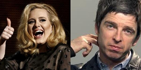 """Noel Gallagher: """"La música de Adele es para abuelitas"""""""