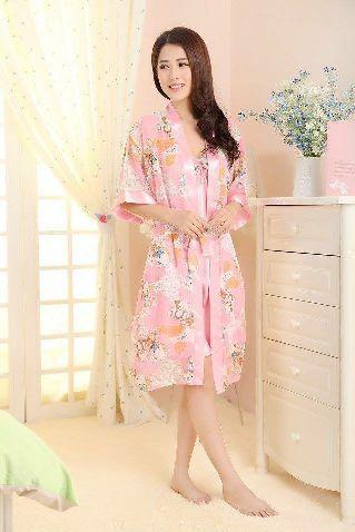 Baju Tidur SL1141 Bear Pink