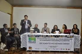 VII Encontro Nacional do FBSSAN (junho de 2013) Porto Alegre-RS