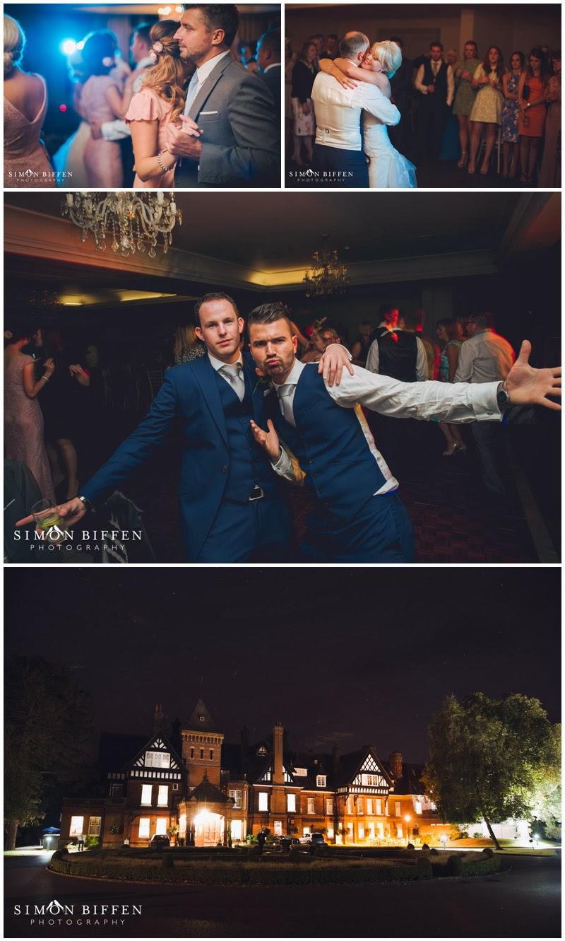Wedding dancing Woodlands Park Surrey