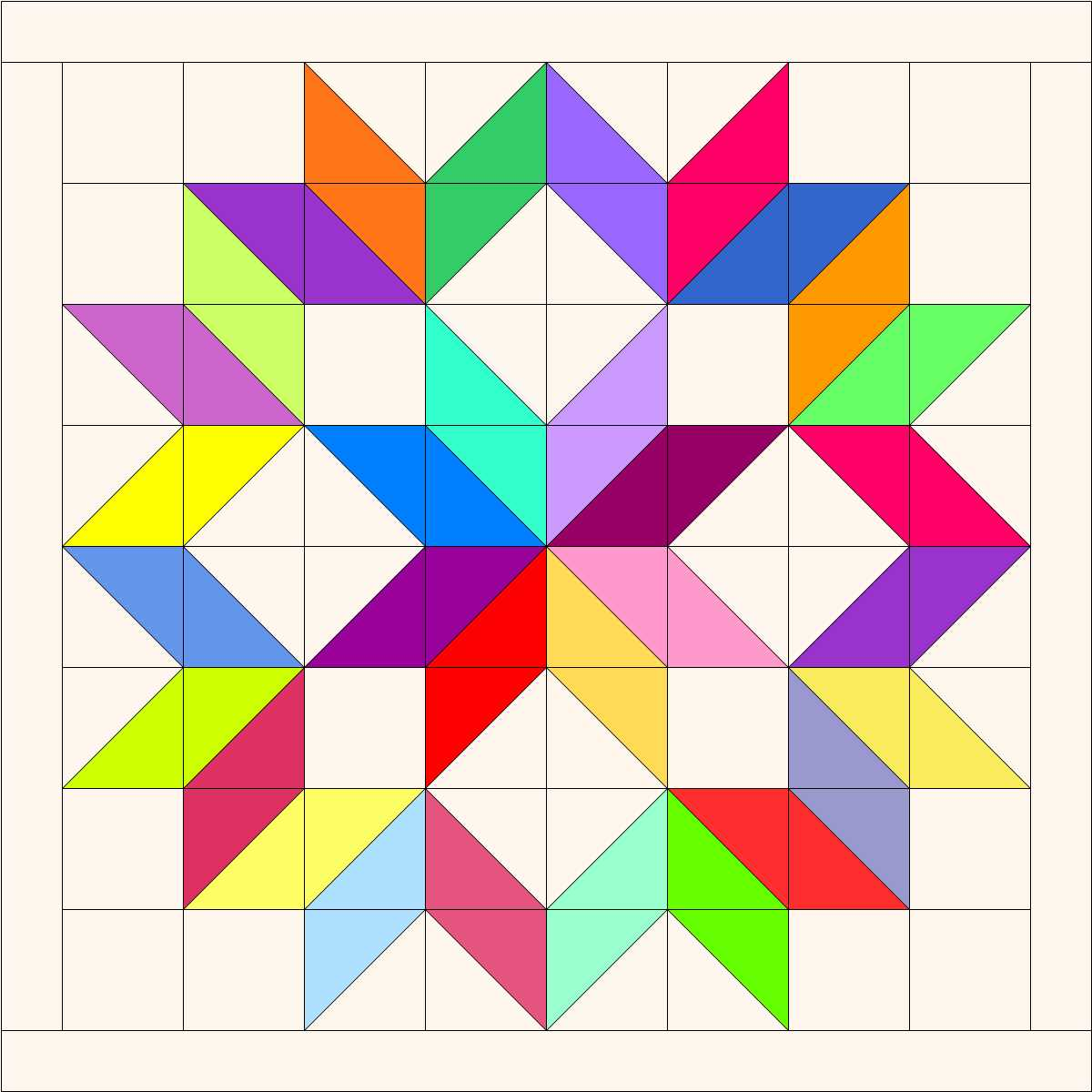 Image Carpenter Star Quilt Block Pattern Download