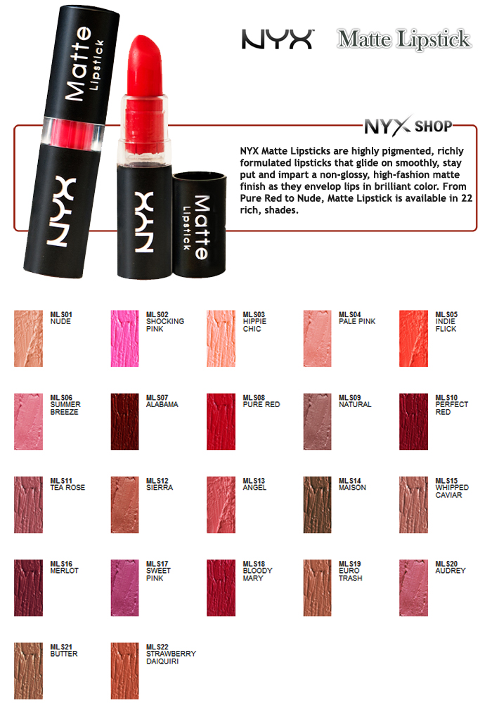 Review: NYX MATTE LIPSTICK IN ANGEL | The Beauty Junkee