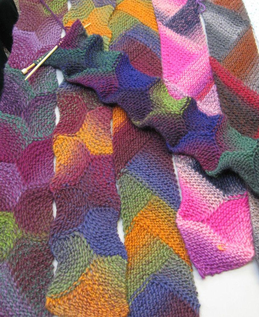 Fiber antics by veronica knitting with short rows knitting with short rows bankloansurffo Images