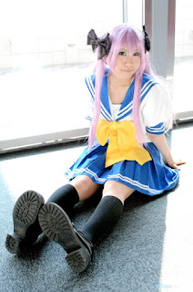 Lucky Star Hiiragi Kagami Cosplay by Hitachi Fuyuki