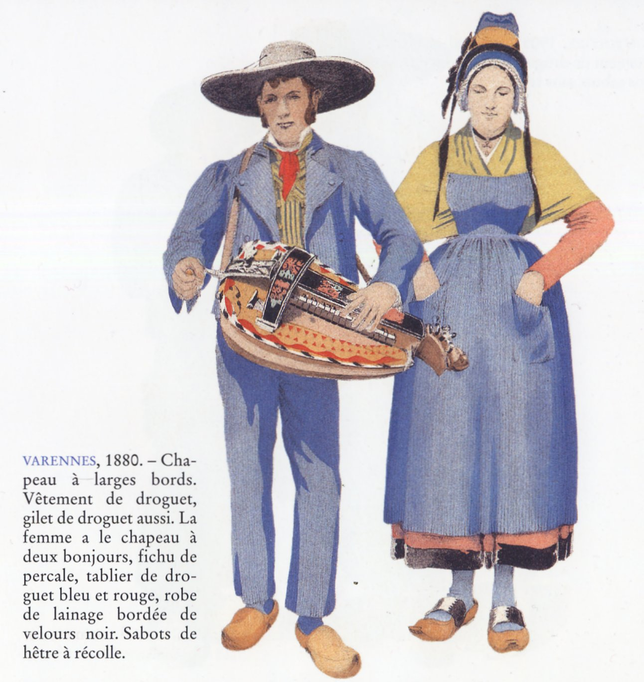 Traditional French Clothing