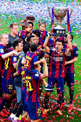 FC BARCELONA LIGA CHAMPIONS 2014 - 2015