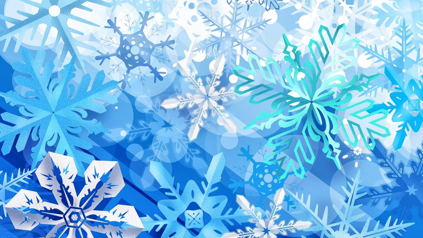 Fondo de Pantalla Navidad copos de nieve | Fondo Pantalla Online