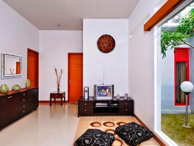 Ruang tamu tanpa sofa 2