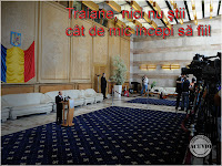 Funny postcard Traian Basescu mic