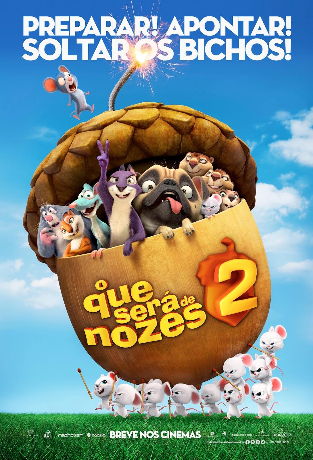 Filme Poster O Que Será de Nozes 2