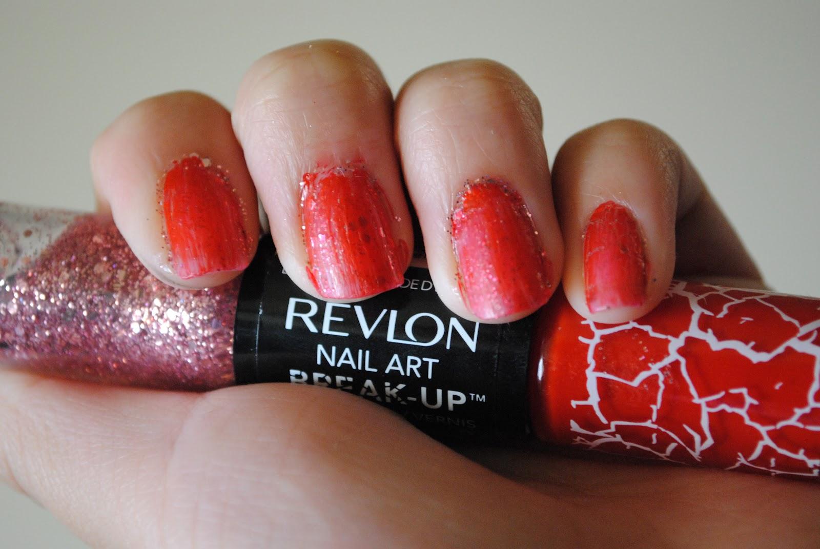 dash of accessories: Revlon Nail Art Break-Up