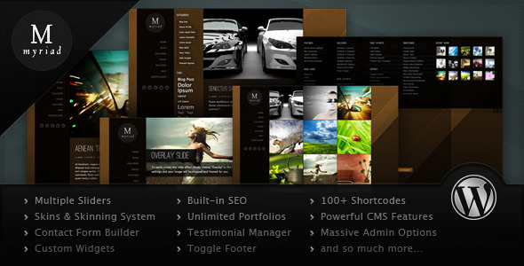 ThemeForest - Myriad - Powerful Professional WordPress Theme