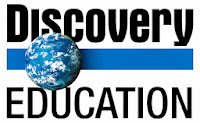 Discovery Education logo with earth