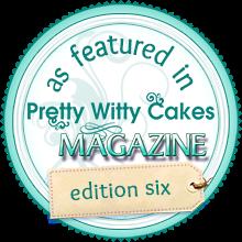 Mi Hada es portada de la Revista de Pretty Witty Cakes