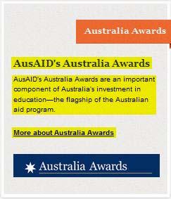 Beasiswa Australia Awards 2014
