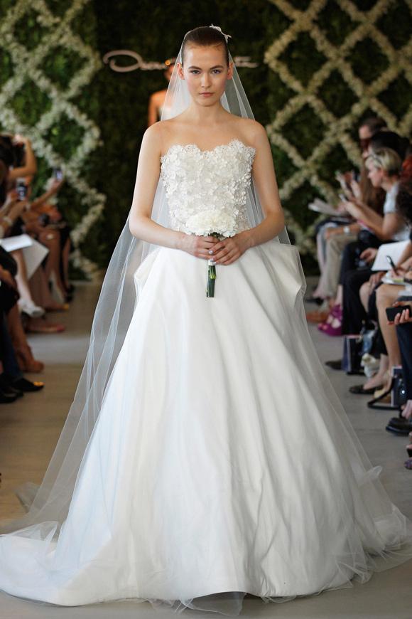 Designer Brautkleider Blog: Oscar de la Renta Brautmode Brautkleider ...