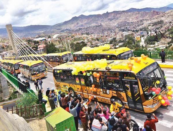 Transporte urbano en La Paz