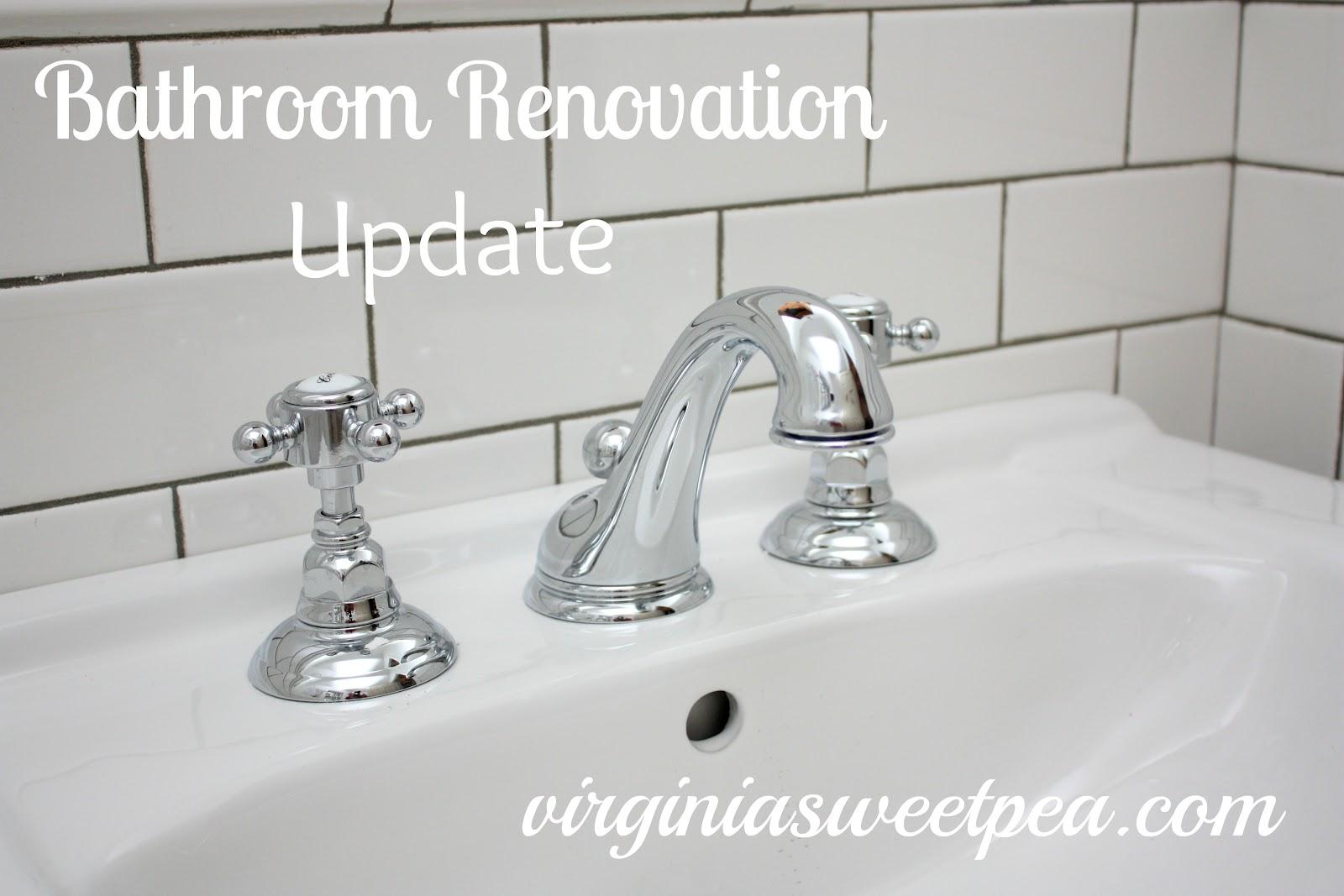 Bathroom Renovation :: Part Seven - Sweet Pea