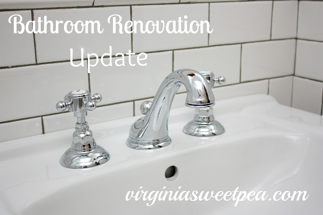 Bathroom Renovation Part Seven Sweet Pea