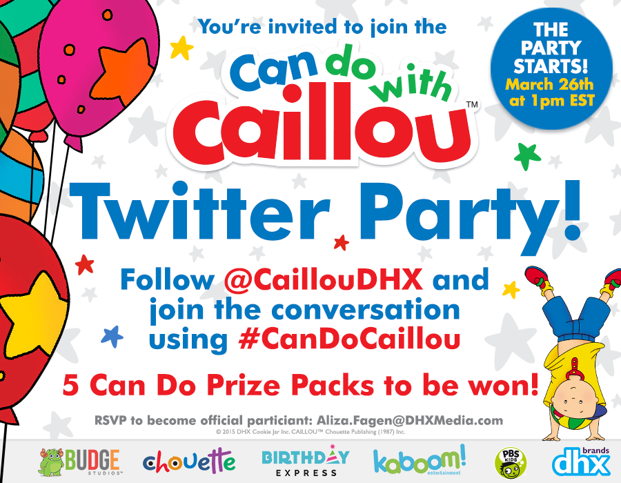 Heck Of A Bunch: Join Caillou and kaboom! Entertainment for a ...