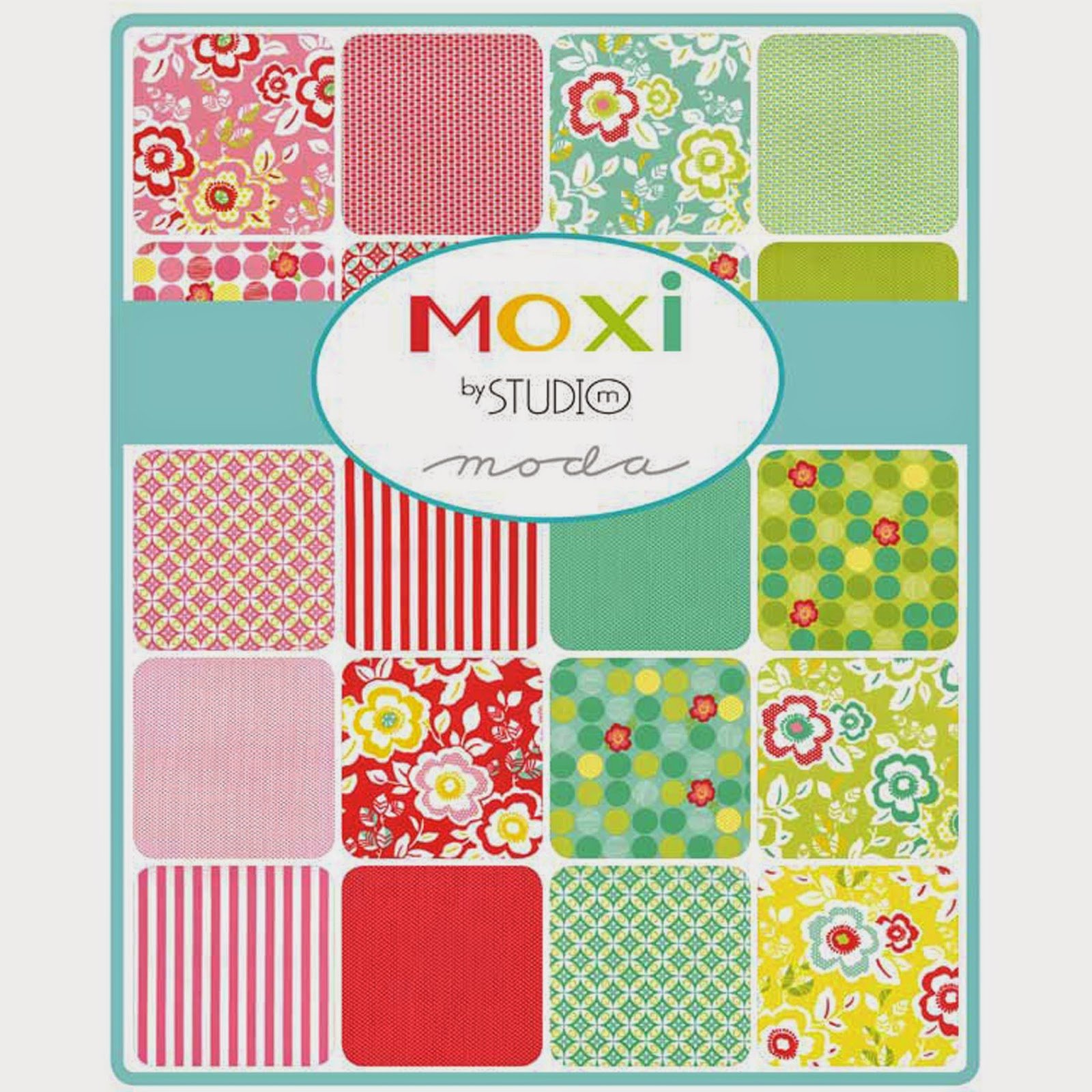 Moda MOXI Fabric by Studio M for Moda Fabrics