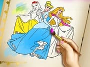 Princess Coloring Book is a free online game for girls on GamesGirlGames.com. Discover some of your favorite princesses in a new and awesome coloring game! Go through the pages of the book, pick up your favorite drawing and make it look fantastic. After you've practiced your creativity you can even go back and turn the whole book into a masterpiece.