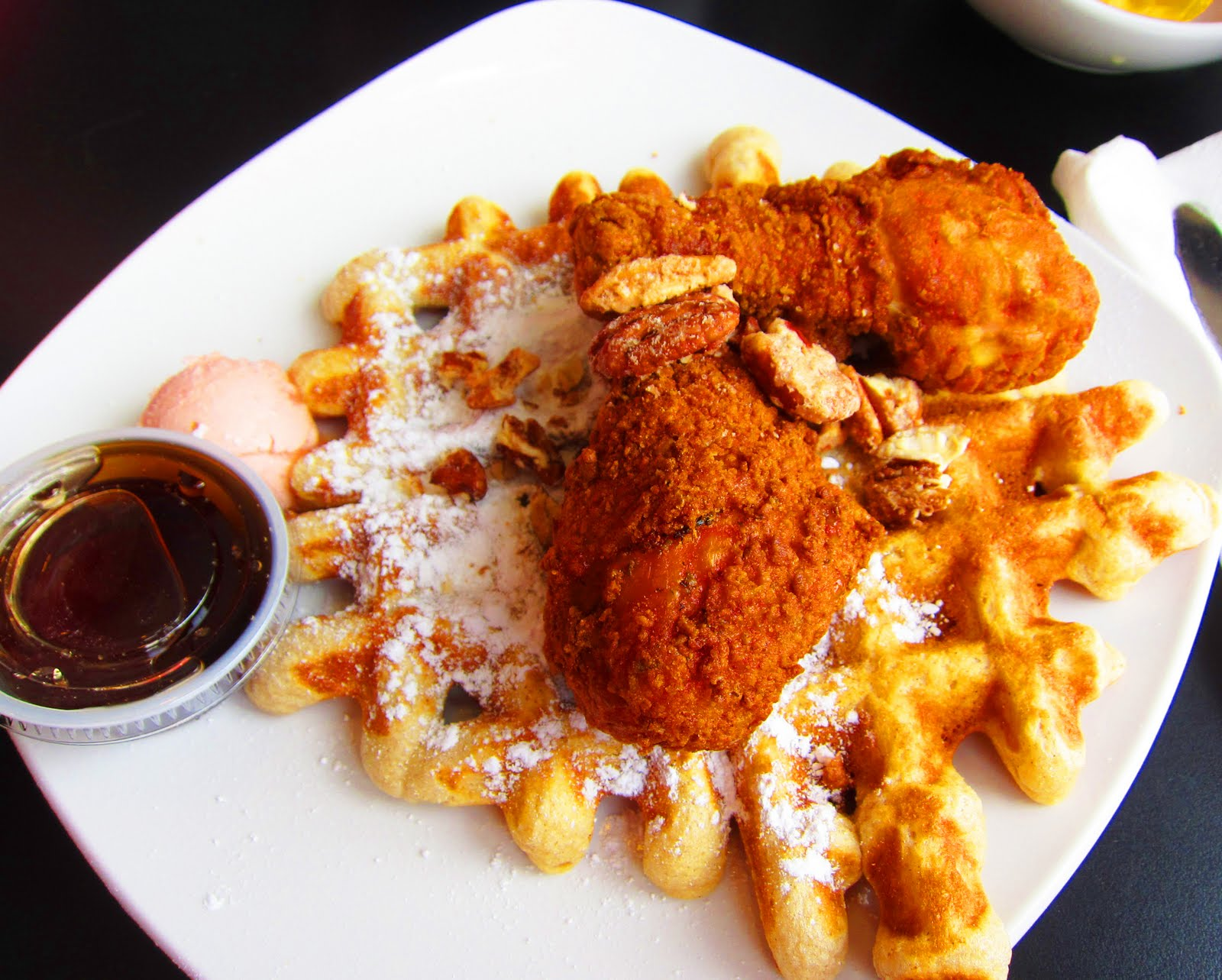 Savory-Sweet Buffalo Chicken And Waffles Recipes — Dishmaps