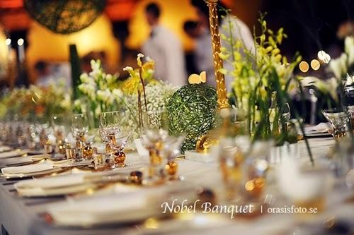Xa hoa, tráng lệ với đại tiệc Nobel Banquet 1