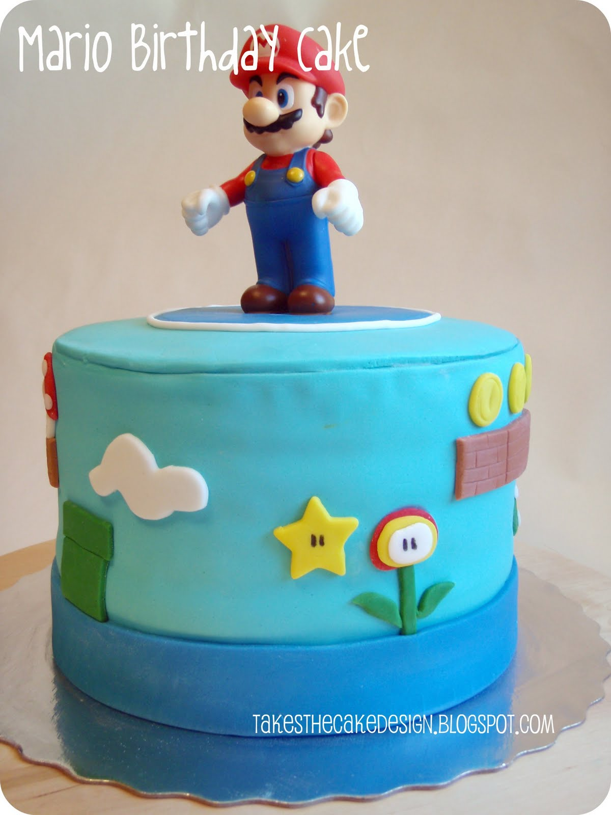 Takes the Cake Super Mario Birthday