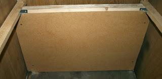 Backboard fitted